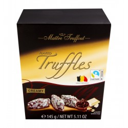 Truffe praliné avec flocons chocolat blanc 145g